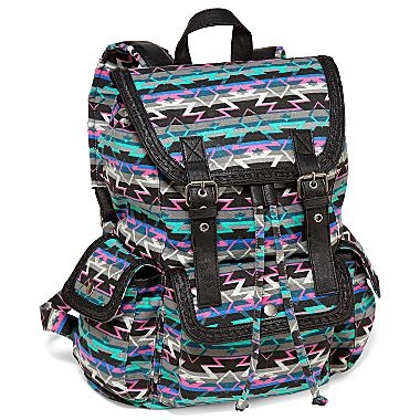 ... -Pattern Canvas Backpack - jcpenney i love this backpack sooo much