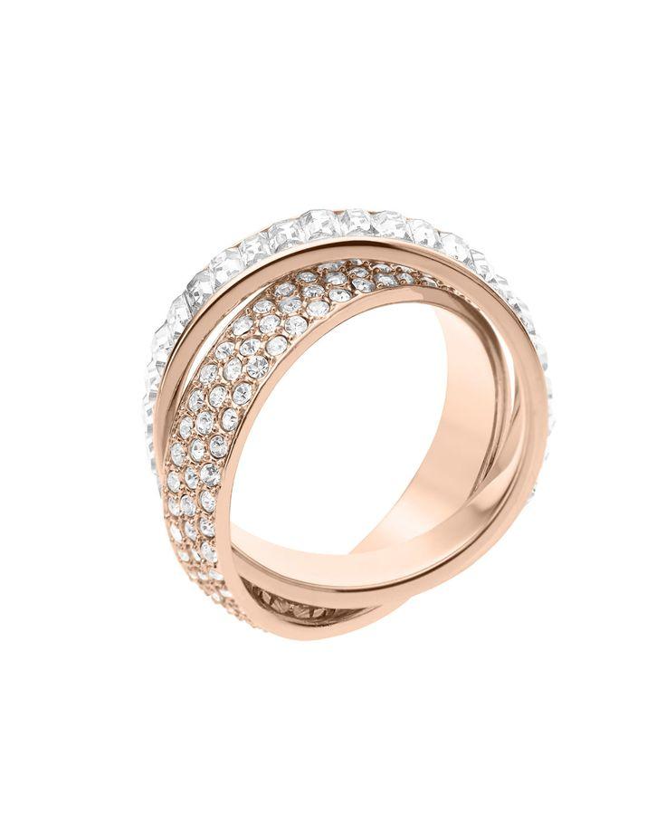 michael kors pave baguette eternity ring rose golden 6. Black Bedroom Furniture Sets. Home Design Ideas