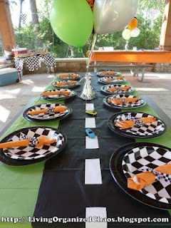 Race Car Birthday Party!