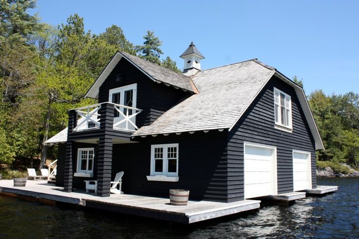 great boathouse - design by Peter Higgins Architect