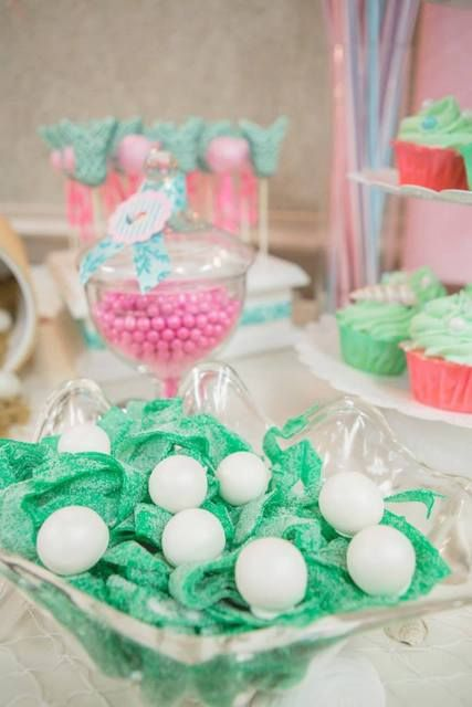 vintage mermaid baby shower party ideas photo 1 of 46 catch my