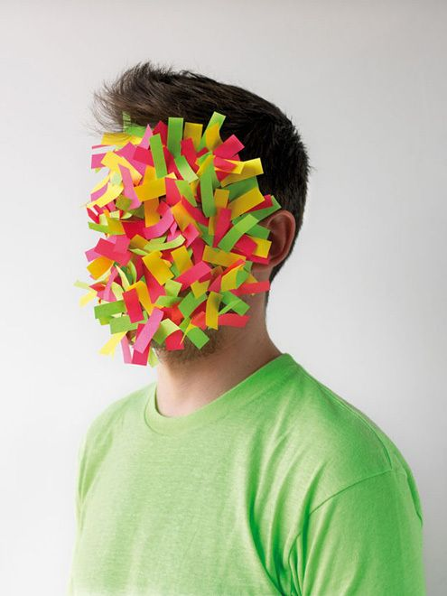 Paper Faces series by Hector Sos // why not?