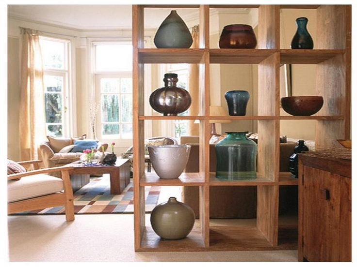 Gallery for room dividers shelves - Open bookcase room divider ...