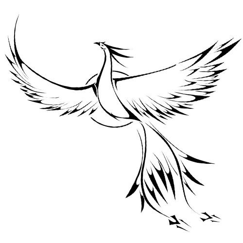 coloring pages of phoenix - photo#29