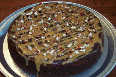 Chocolate Turtle Cheesecake | cooking in the kitchen | Pinterest