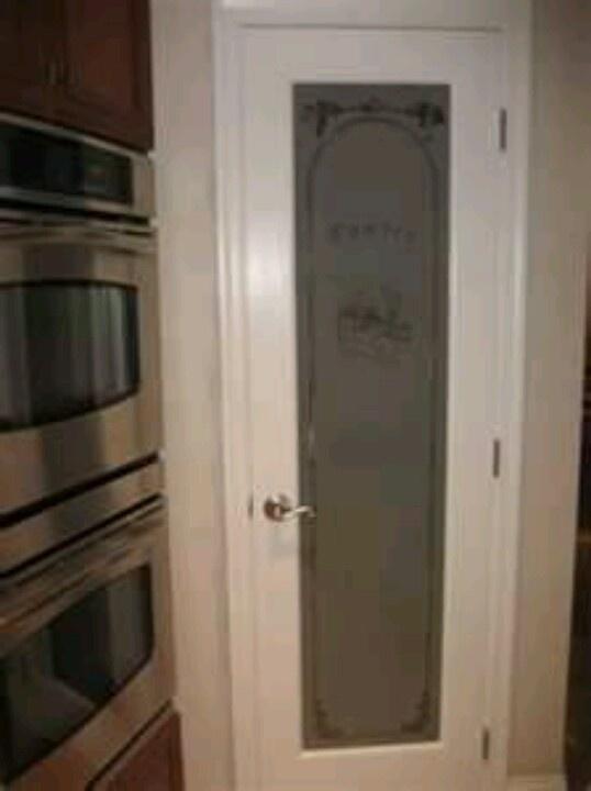 Pantry door house ideas pinterest for Pantry door ideas