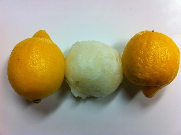 Lemon Sorbet Recipe | All in Good Food Recipes