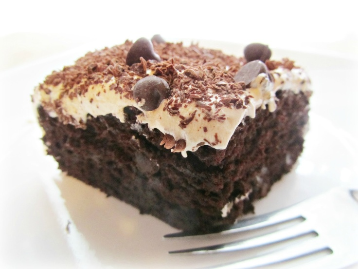 Chocolate-Peanut Butter Fun Cake | Cakes | Pinterest