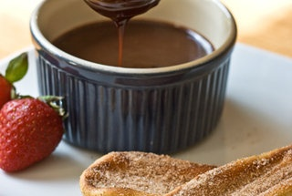Grilled Churros with Nutella Sauce | Food and Drinks | Pinterest