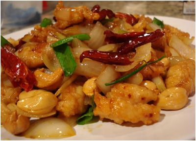Spicy Cashew Chicken   happiness is eating and drinking   Pinterest