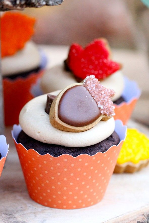 Chocolate Cupcakes with Peanut Butter Icing | Recipe
