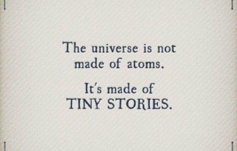 tiny stories.