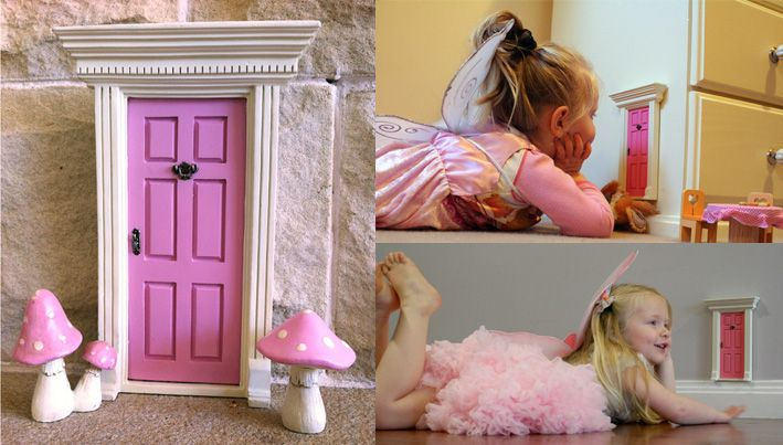 Pin by elisa darbonne on quinn alice in wonderland for Fairy door for bedroom