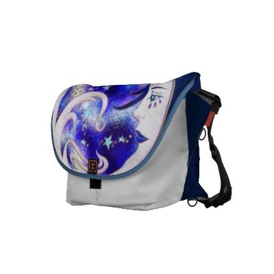 Blue Moon Deco - Rickshaw Messenger Bag