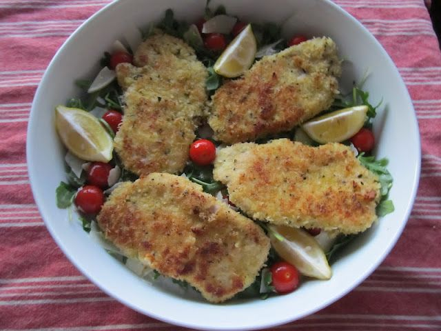 Pork Milanese with arugula salad | For Those Who Love to Cook | Pinte ...