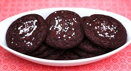 Chocolate Caramel Cookies with Sea Salt | Recipe