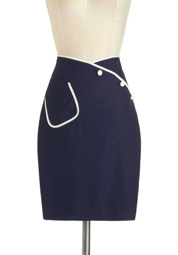 Sailor Swift Skirt, #ModCloth