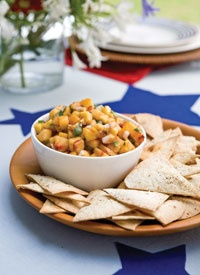 More like this: peach salsa , grilled peaches and salsa .