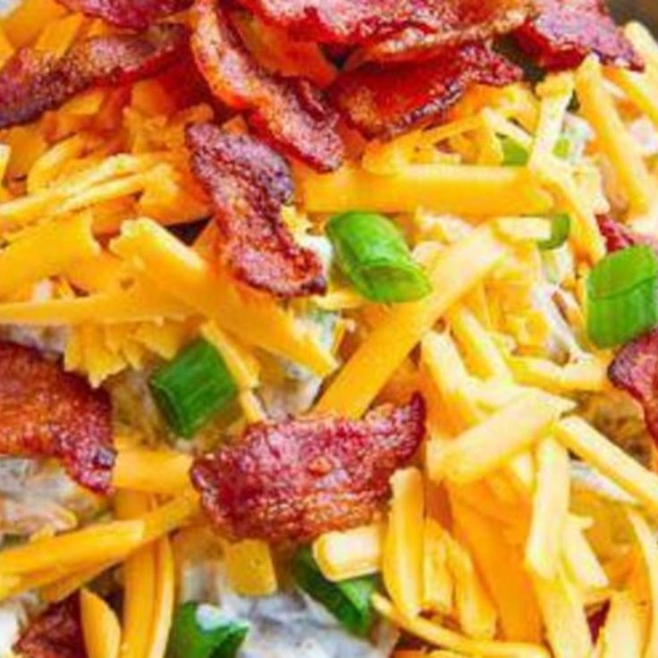 Loaded Baked Potato Salad | Fav Recipes | Pinterest