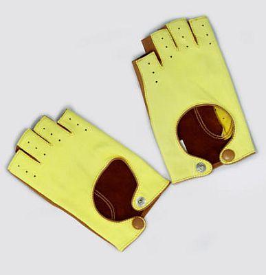 Jaune Camel Glove by Maison Fabre