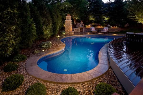 Backyard Swimming Pool Designs : Backyard swimming pool design and installation Minneapolis  Southview