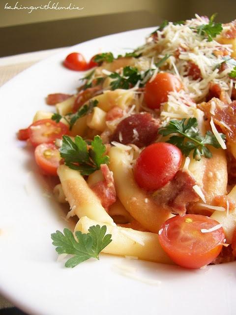 BLT Pasta | Food | Pinterest