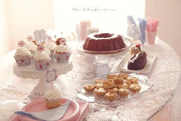 shabby chic pink girl tea party baby shower planning ideas