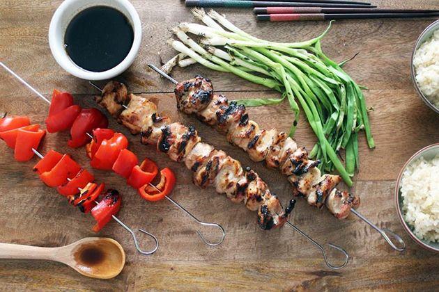 Grilled Japanese Chicken Skewers (Yakitori) | Recipe