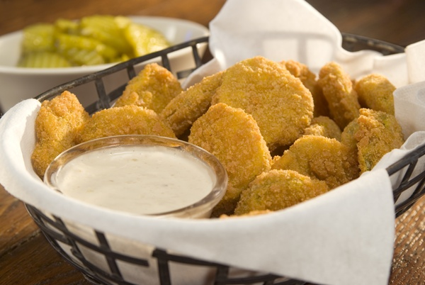 An Indiana Treat Perfect For Super Bowl Parties: Fried Pickles