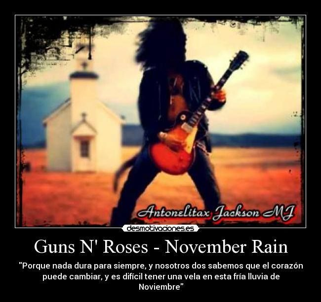 play november rain by guns n roses
