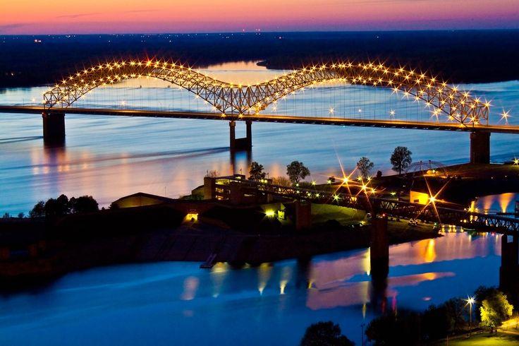 Tennessee Arkansas Bridge Bridges Pinterest