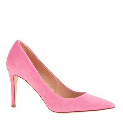 Shop now: J. Crew Everly Suede Pumps