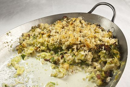 Brussels Sprouts Gratin | Dinner is Served... | Pinterest