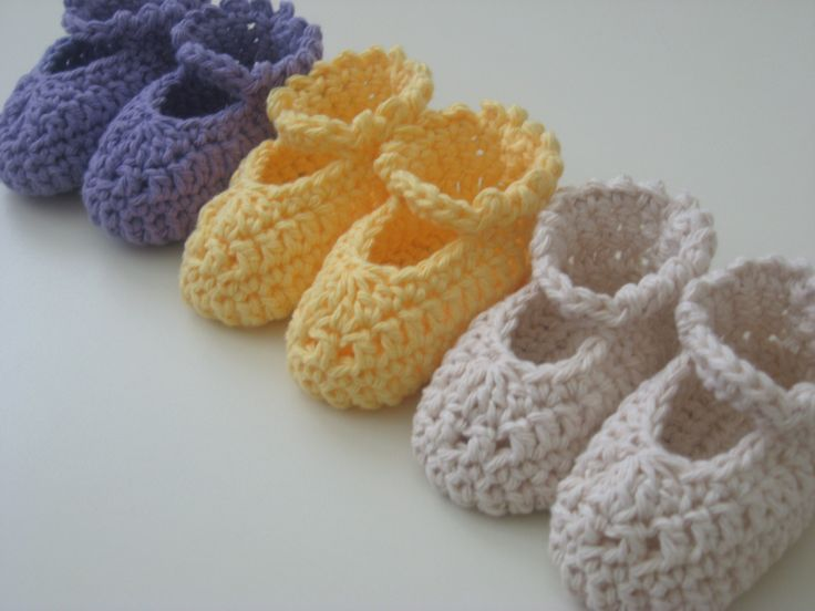 Very Easy Crochet Patterns Baby Booties : Easy Crochet Pattern MaryJane Baby Booties for ...