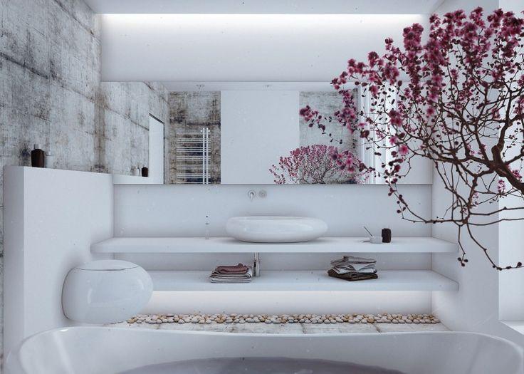 Loft-Style-Country-House | Bain