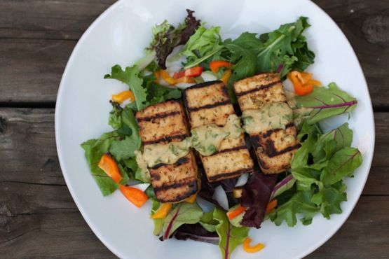 Broiled Black-Pepper Tofu Recipe — Dishmaps