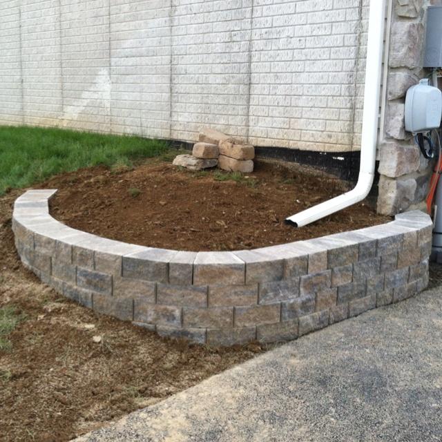 small retaining wall installation garden tips pinterest