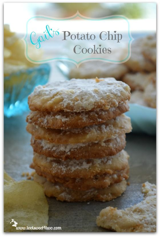 Potato Chip Cookies - sweet and salty - the perfect combination! Get ...