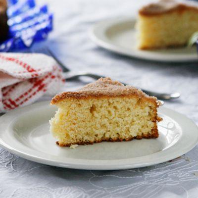 Cinnamon-Sugar Coffee Cake, A Vintage Recipe - Sarah's Cucina Bella