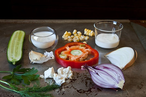 Dilled, Crunchy Sweet-Corn Salad with Buttermilk Dressing | Recipe