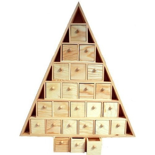 Wooden Advent Calendars With Drawers Calendar Template 2016