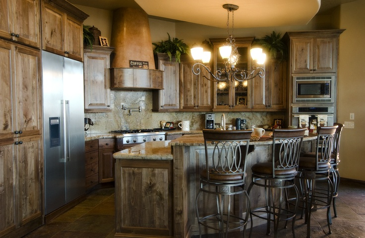 Cabinets rustic southwest kitchen home kitchen - Kitchen cabinets southwest ...