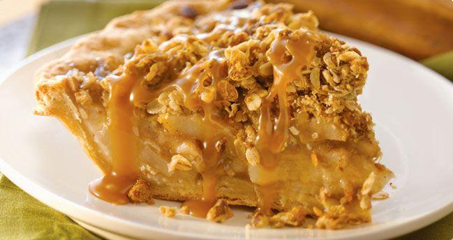 Caramel Apple Crumble Pie | Yummy!! | Pinterest