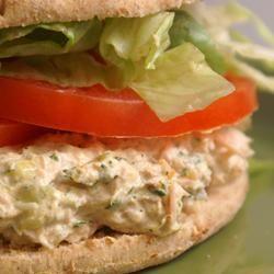"Barbie's Tuna Salad | ""This tuna salad rocks! The curry transformed ..."