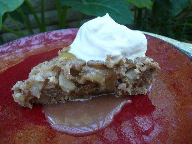 Apple Pie Cake With Rum Butter Sauce Recipe - Food.com