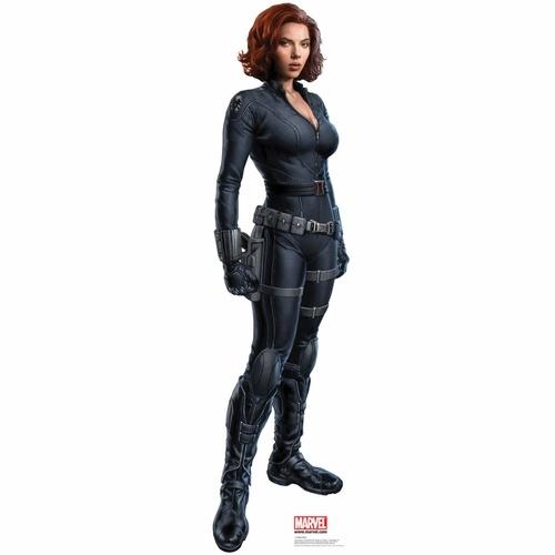 Scarlett Johansson The Black Widow Life Sized Cardboard Cutout $34.95