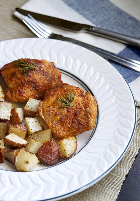 buttermilk roast chicken | scrum-diddly-umptious | Pinterest