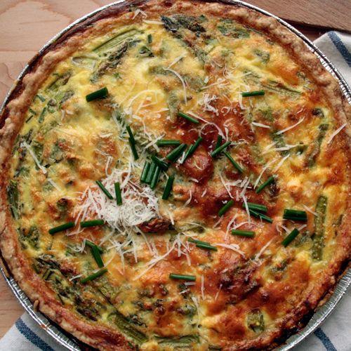 Sadie's Sunday Pie - a savory pie filled to the brim with salmon ...