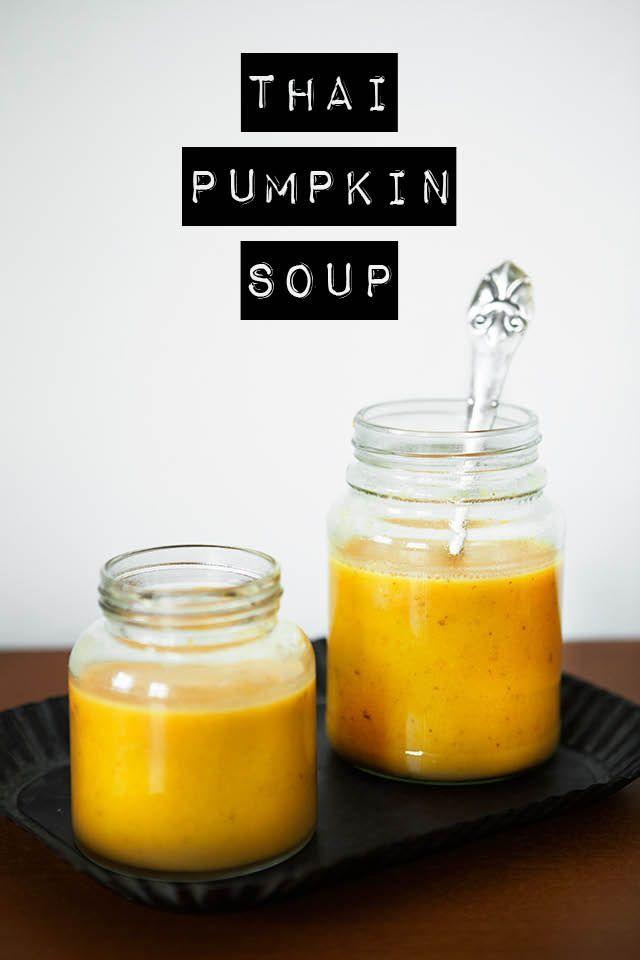 Thai Pumpkin Soup Recipe. | Salads, Sandwiches, and Soups | Pinterest