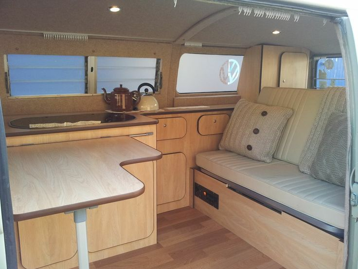 Camper campervan interior conversion unit for vw t2 t25 for Campervan interior designs